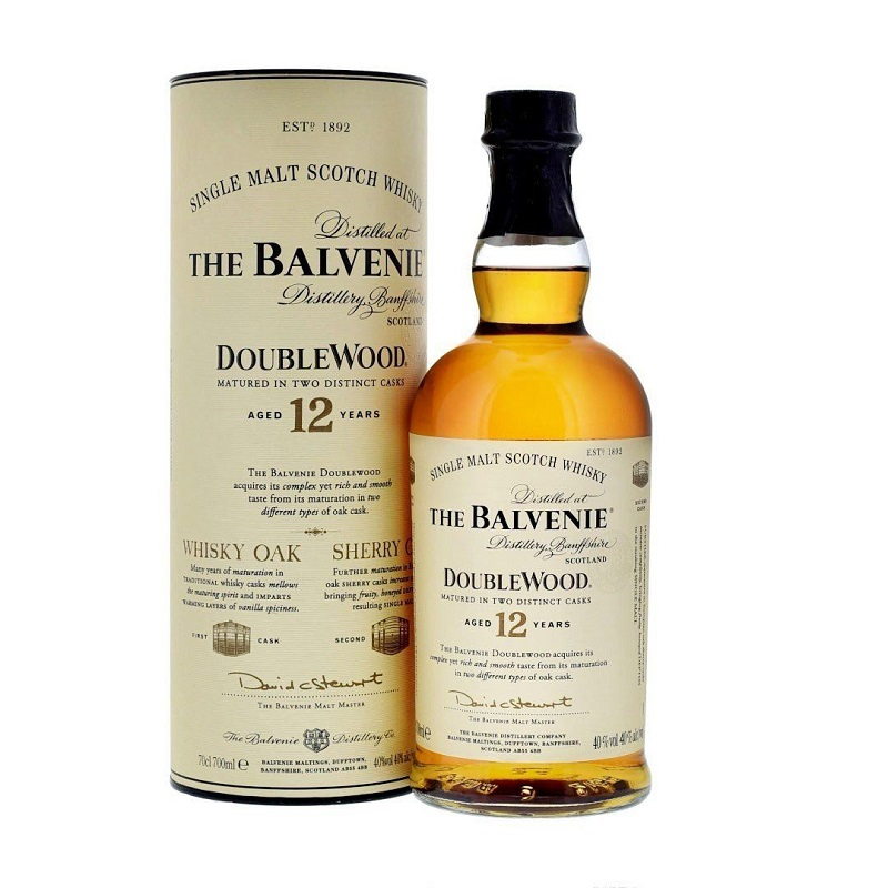 Balvenie 12 years Double Wood, Sherry Oak Whisky 70cl