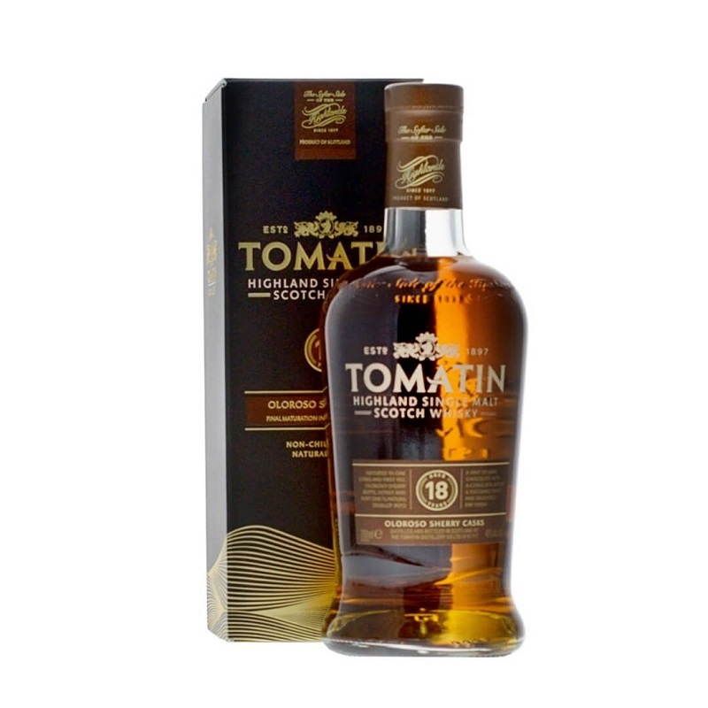Tomatin 18 years Whisky 70cl