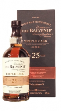 Balvenie 25 years Triple Cask