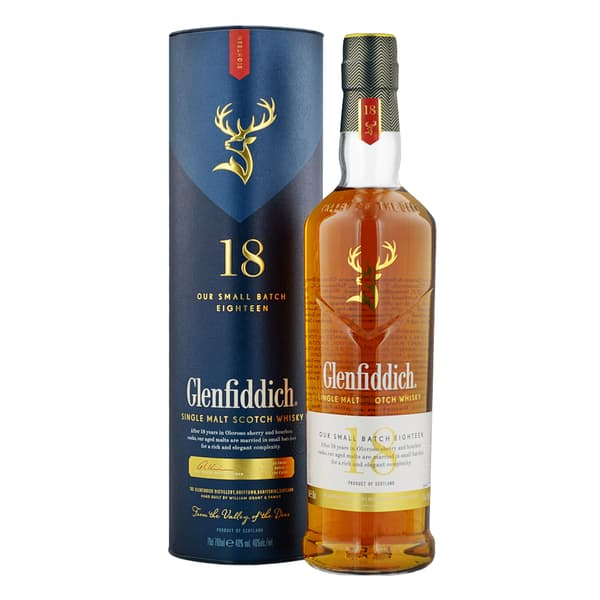Glenfiddich 18 years Small Batch Reserve Whisky 70cl