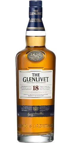 Glenlivet 18 years Whisky 70cl