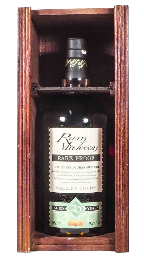 Malecon 1996, 20 years Rare Proof Small Batch Rum 70cl