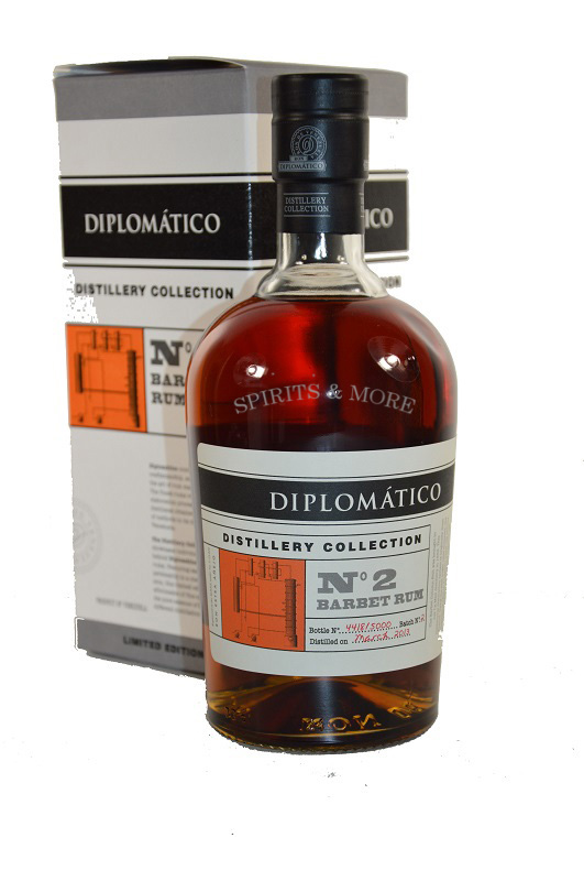 Diplomatico Distillery Collection NO2 Barbet Still Rum 70cl