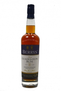 Berrys Rum Guadeloupe 16 years