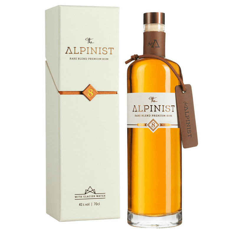 The Alpinist Rare Blend Premium Rum 8 Years