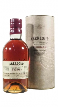 Aberlour a`bunadh Cask Strenght