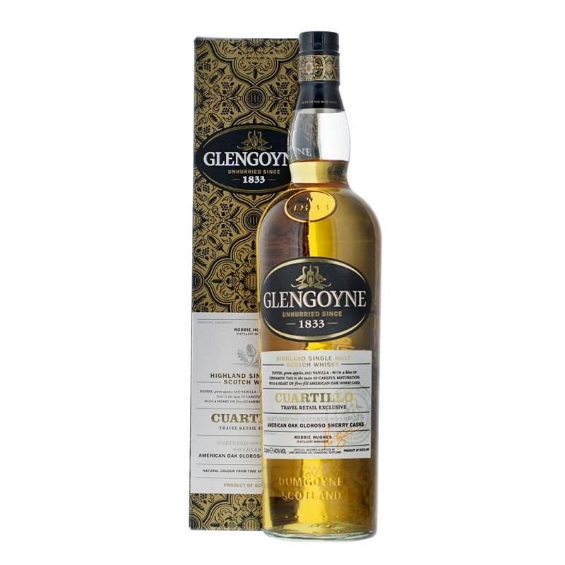 Glengoyne Cuartillo American Oak Oloroso Sherry Cask Whisky 100cl