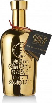 Gold Gin 999.9 Finest Blend 70cl
