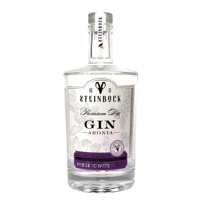 Steinbock Aronia Premium Gin 50cl